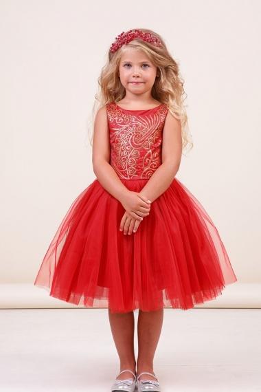 57be111b4651bd9 Платье для девочки Лаура купить за 3200 рублей