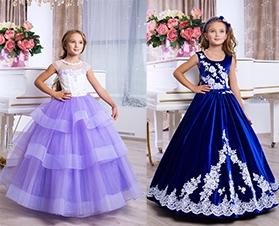 Бальные, нарядные платья к новогодним праздникам.