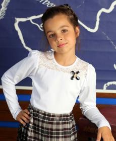 Кружевные Блузки Для Девочек Купить