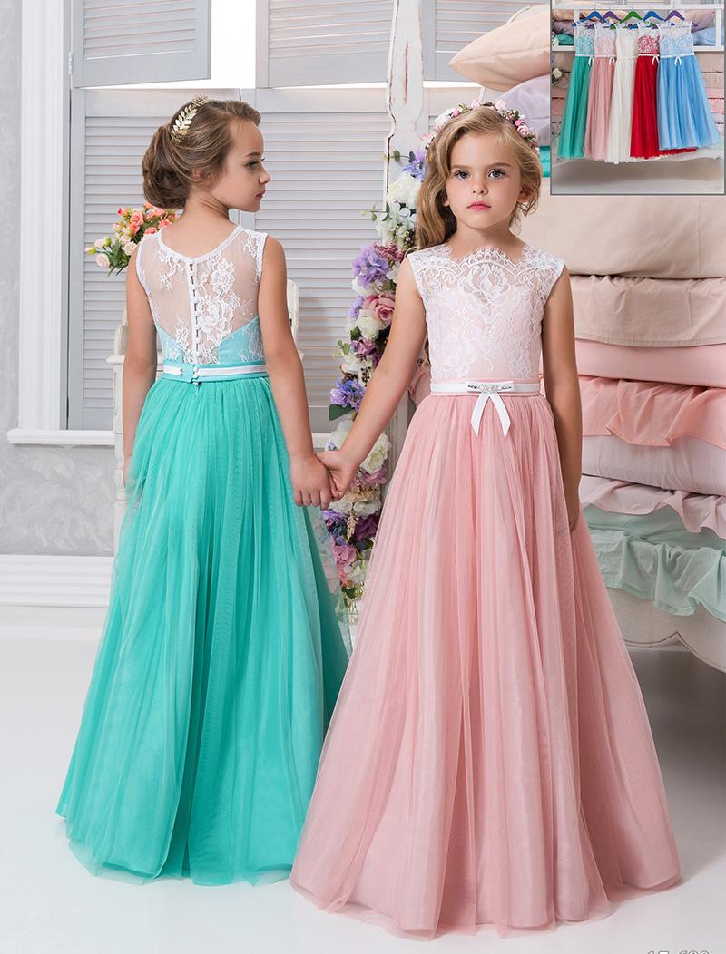 Платье длинное для девочек 12 лет